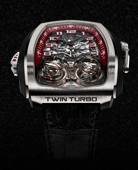 Jacob & Co TT100.21.NS.MK.A TWIN TURBO Grand Complication Masterpieces Replica watch