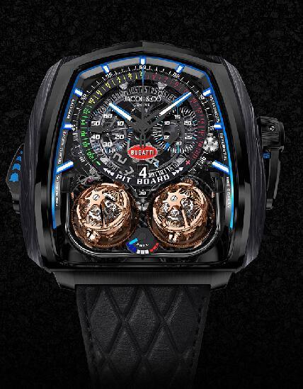 Jacob & Co Twin Turbo Furious Bugatti TT200.21.AA.AA.A Replica watch