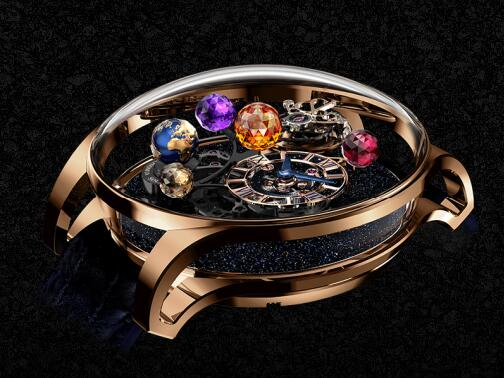 Jacob & Co Replica watch AS300.40.AS.AK.A Astronomia Solar Jewellery Planet