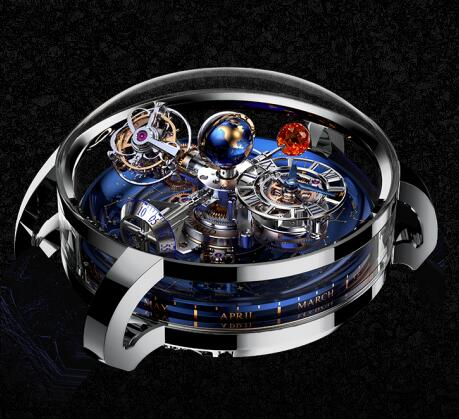 Jacob & Co Replica watch Grand Complication Masterpieces ASTRONOMIA SKY AT110.30.AA.SD.A