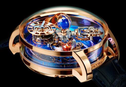 Jacob & Co Replica watch Grand Complication Masterpieces ASTRONOMIA SKY AT110.40.AA.SD.A