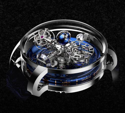 Jacob & Co Replica watch Grand Complication Masterpieces Astronomia Sky Platinum AT110.60.AA.WD.A