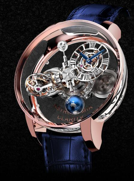 Jacob & Co Replica watch Grand Complication Masterpieces ASTRONOMIA CLARITY AT120.40.AD.SD.A