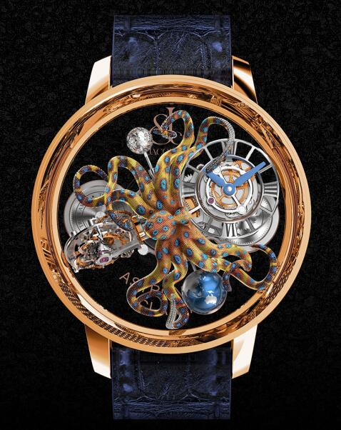 Jacob & Co Replica watch Grand Complication Masterpieces Astronomia Octopus AT120.40.OU.SD.B