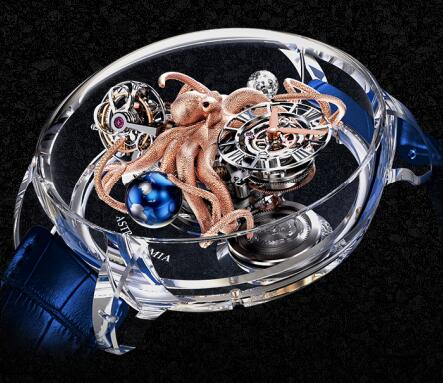 Jacob & Co Replica watch Grand Complication Masterpieces Astronomia Octopus AT125.80.AA.SD.A