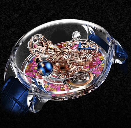 Jacob & Co Replica watch Grand Complication Masterpieces Astronomia Flawless AT130.48.HD.UA.B