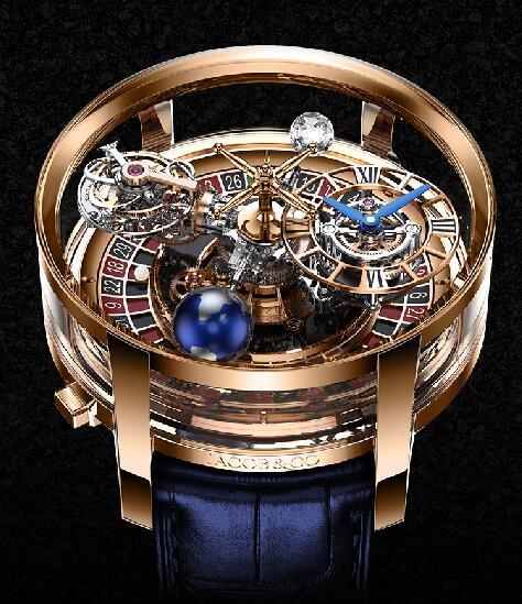 Jacob & Co Replica watch Astronomia Casino AT160.40.AA.AA.A