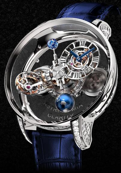 Jacob & Co Replica watch Grand Complication Masterpieces ASTRONOMIA CLARITY AT820.30.BD.SB.A