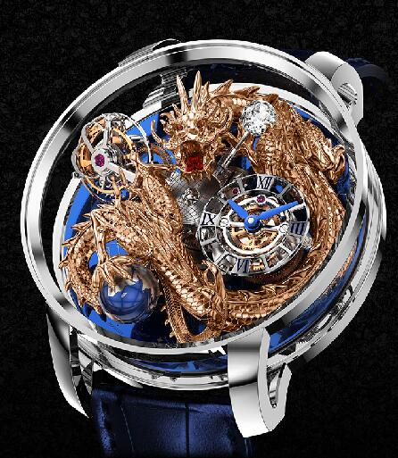 Jacob & Co Astronomia Sky Platinum - Dragon AT112.60.DR.UA.A Replica watch