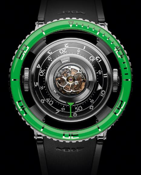 MB&F HM7 AQUAPOD TI GREEN 70.TGL.B HOROLOGICAL MACHINE N.7 Replica Watch