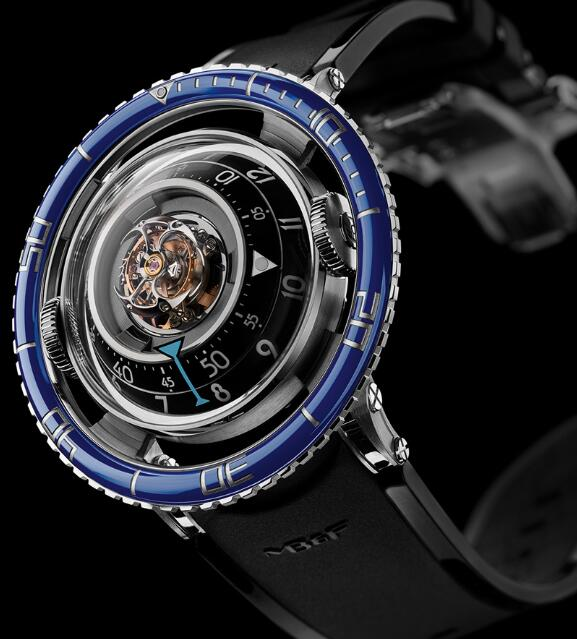 MB&F HM7 AQUAPOD TI BLUE 70.TSL.B HOROLOGICAL MACHINE N.7 Replica Watch