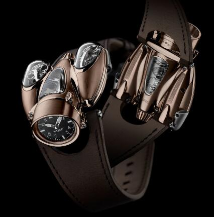 MB&F HM9 Flow Red Gold Air Edition 90.RL.AB Replica Watch