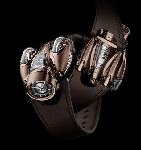 MB&F HM9 Flow Red Gold Road Edition 90.RL.RB Replica Watch