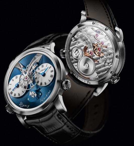 MB&F LEGACY MACHINES LM1 Xia Hang White Gold 52.WL.W Replica Watch