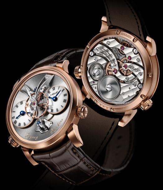 MB&F LM1 Red Gold Gold 01.RL.W Replica Watch