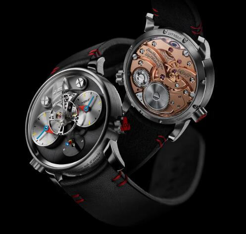 MB&F LM1 SILBERSTEIN TI 53.TL.S Replica Watch