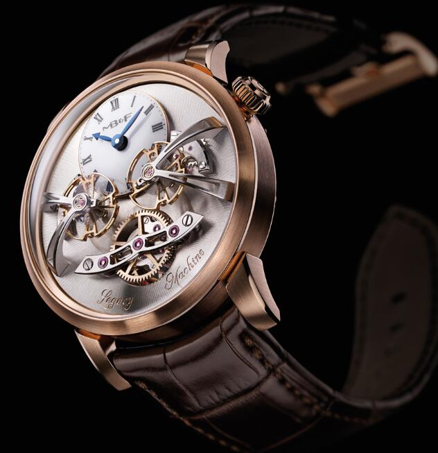 MB&F LM2 Red Gold 02.RL.W Replica Watch