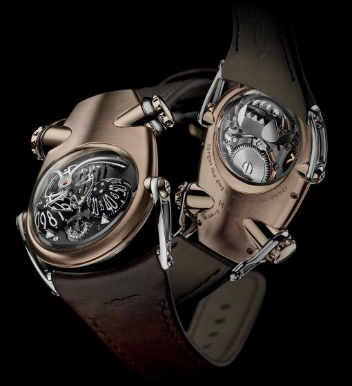 MB&F HM10 Bulldog Red Gold 100.RL.B Replica Watch