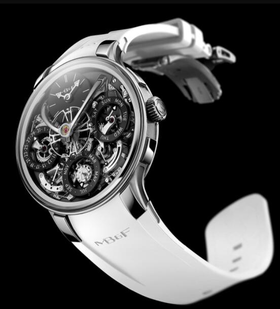 MB&F Legacy Machine Perpetual EVO Black 07.ZR.BL Replica Watch