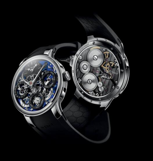 MB&F Legacy Machine Perpetual EVO Blue 07.ZR.BU Replica Watch