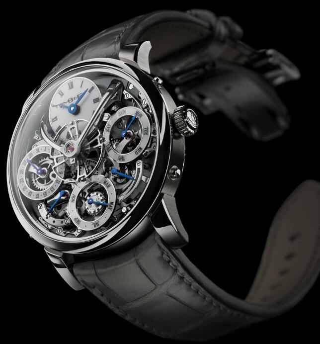 MB&F LM PERPETUAL WHITE GOLD 03.WL.B Replica Watch