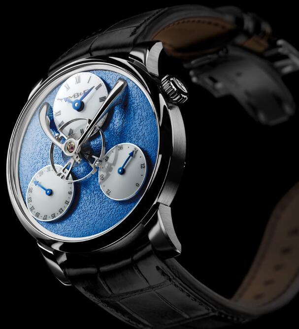 MB&F LM SPLIT ESCAPEMENT BLUE 03.WL.FBL Replica Watch