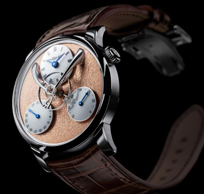 MB&F LM SPLIT ESCAPEMENT RED 03.WL.FR Replica Watch