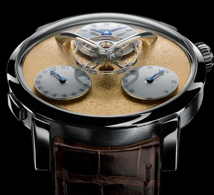 MB&F LM SPLIT ESCAPEMENT YELLOW 03.WL.FY Replica Watch