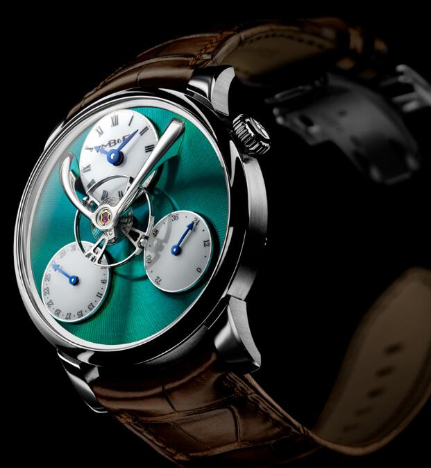 MB&F LM SPLIT ESCAPEMENT TITANIUM GREEN 04.TL.G Replica Watch