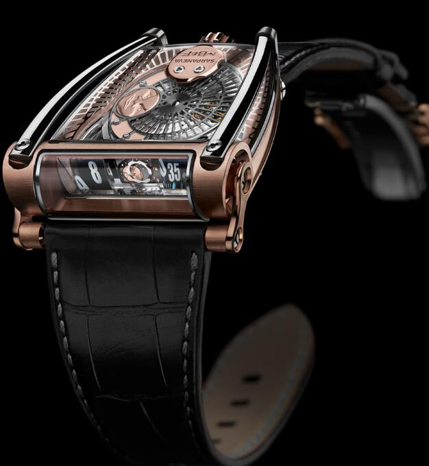 MB&F MOONMACHINE 2 RG 81.RTL.B Replica Watch