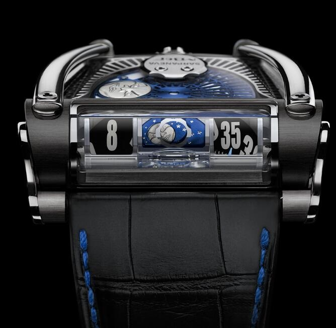 MB&F MOONMACHINE 2 BLACK TI 81.BTL.B Replica Watch