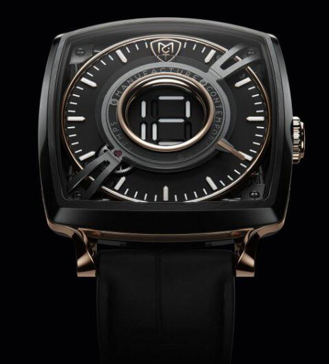 MCT Replica Watch Dodekal One - D110 BLACK PINK GOLD SQ43 D110 AB PG 01