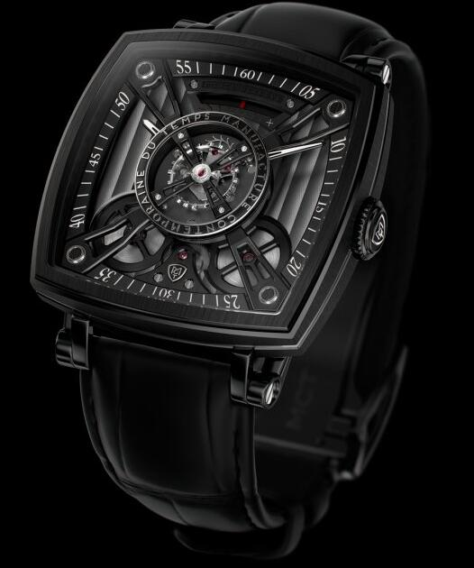MCT Replica Watch FREQUENTIAL ONE F110 BLACK SQ42 F110 AB 01