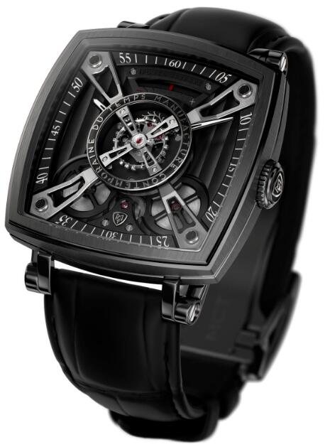 MCT Replica Watch FREQUENTIAL ONE F110 Anthracite SQ42 F110 DG 01