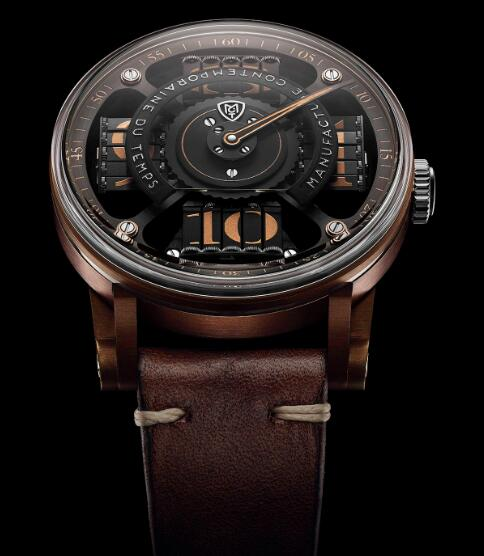 MCT Replica Watch SEQUENTIAL TWO S220 Bronze RD 45 S200 BR 01