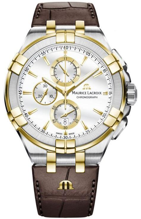 Maurice Lacroix AIKON Chronograph AI1018-PVY11-132-1 Replica Watch