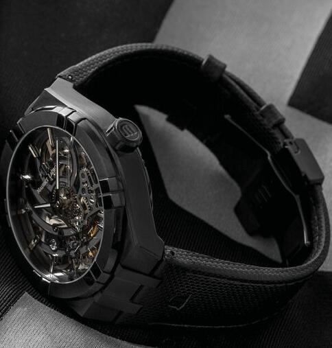 Maurice Lacroix AIKON Automatic Skeleton Manufacture AI6028-PVB01-030-1 Replica Watch