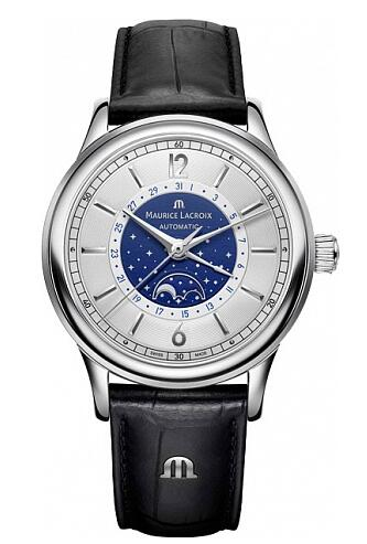 Maurice Lacroix Les Classiques Moonphase LC6168-SS001-122-1 Replica Watch