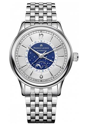 Maurice Lacroix Les Classiques Moonphase LC6168-SS002-122-1 Replica Watch