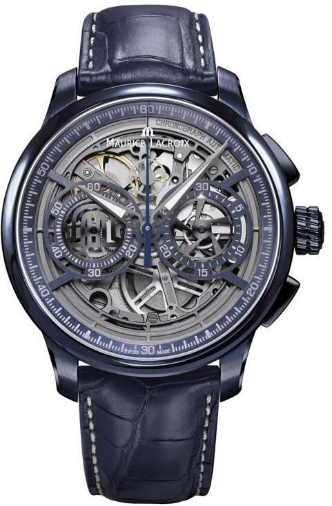 Maurice Lacroix Masterpiece Chronograph Skeleton MP6028-PVC01-002-1 Replica Watch