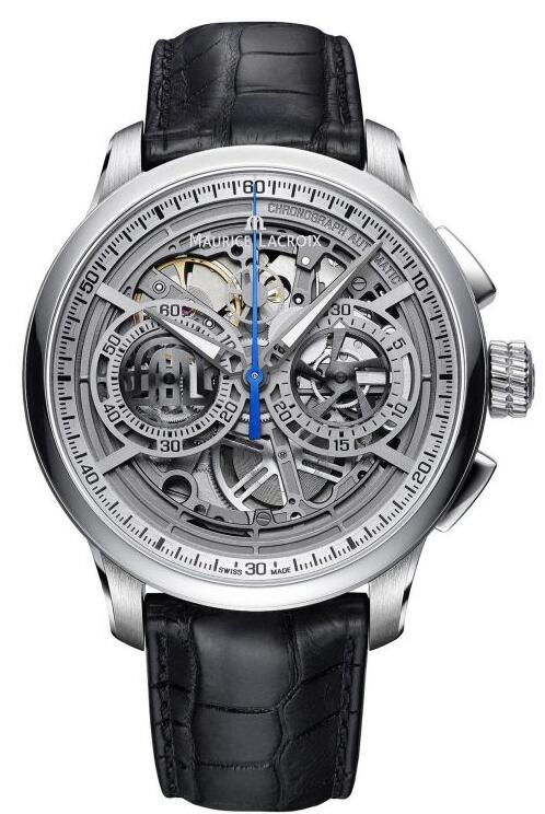 Maurice Lacroix Masterpiece Chronograph Skeleton MP6028-SS001-001-1 Replica Watch