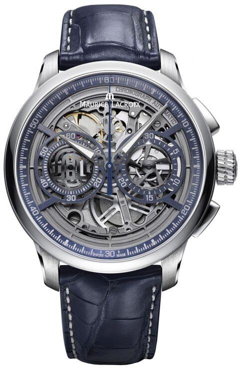 Maurice Lacroix Masterpiece Chronograph Skeleton MP6028-SS001-002-1 Replica Watch