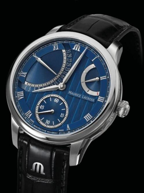 Maurice Lacroix Masterpiece Retrograde Calendar 43mm MP6568-SS001-430-1 Replica Watch