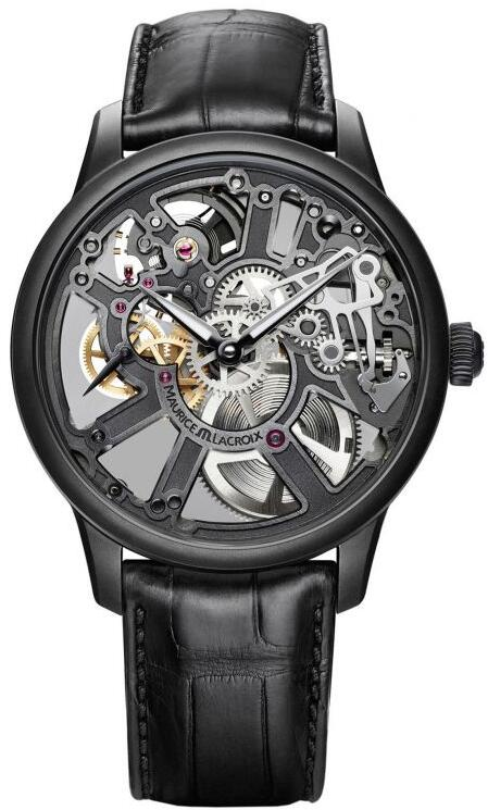 Maurice Lacroix Masterpiece Skeleton 43mm MP7228-PVB01-005-1 Replica Watch