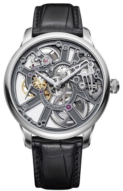 Maurice Lacroix Masterpiece Skeleton 43mm MP7228-SS001-003-1 Replica Watch