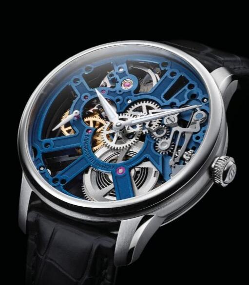 Maurice Lacroix Masterpiece Skeleton 43mm MP7228-SS001-004-1 Replica Watch
