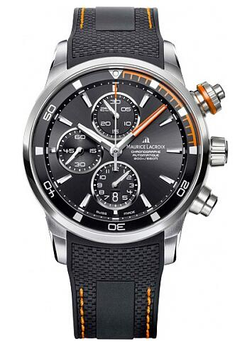 Maurice Lacroix Pontos Chronograph S Orange PT6008-SS001-332-1 Replica Watch