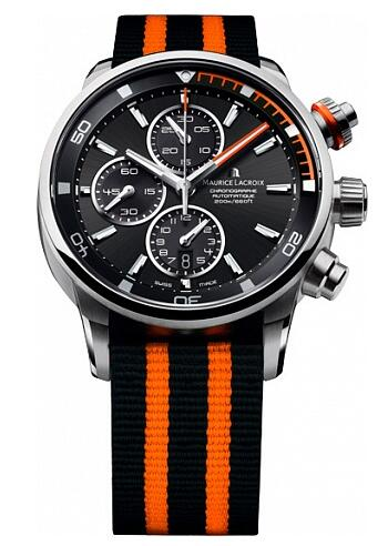 Maurice Lacroix Pontos Chronograph S Orange PT6008-SS002-332-1 Replica Watch
