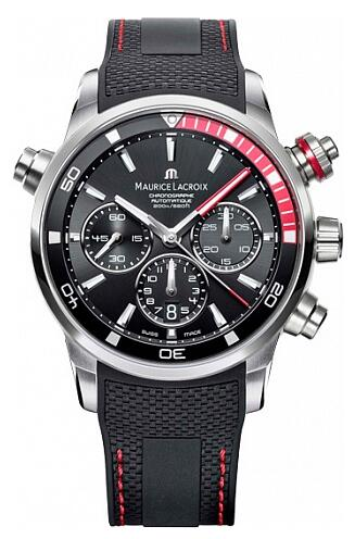 Maurice Lacroix Pontos Chronograph S Red PT6018-SS001-330-1 Replica Watch