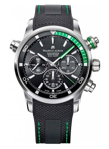Maurice Lacroix Pontos Chronograph S Green PT6018-SS001-331-1 Replica Watch